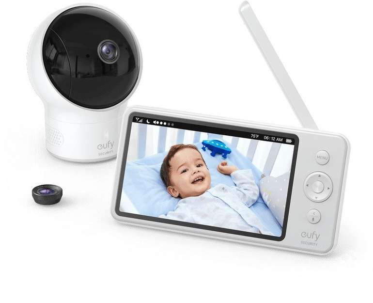 Eufy Security SpaceView Babyphone mit 5 Zoll LCD-Display (720 HD) für 129,06€ inkl. Versand (statt 160€)