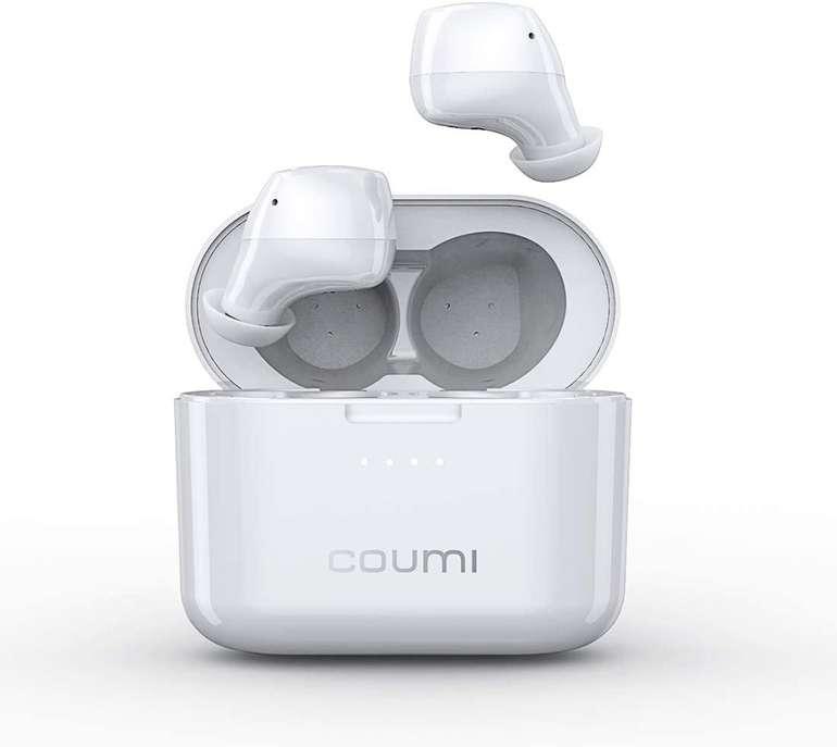 Coumi In-Ear-Kopfhörer (IPX5, Mikrofon) für 17,39€ inkl. Prime Versand (statt 21€)