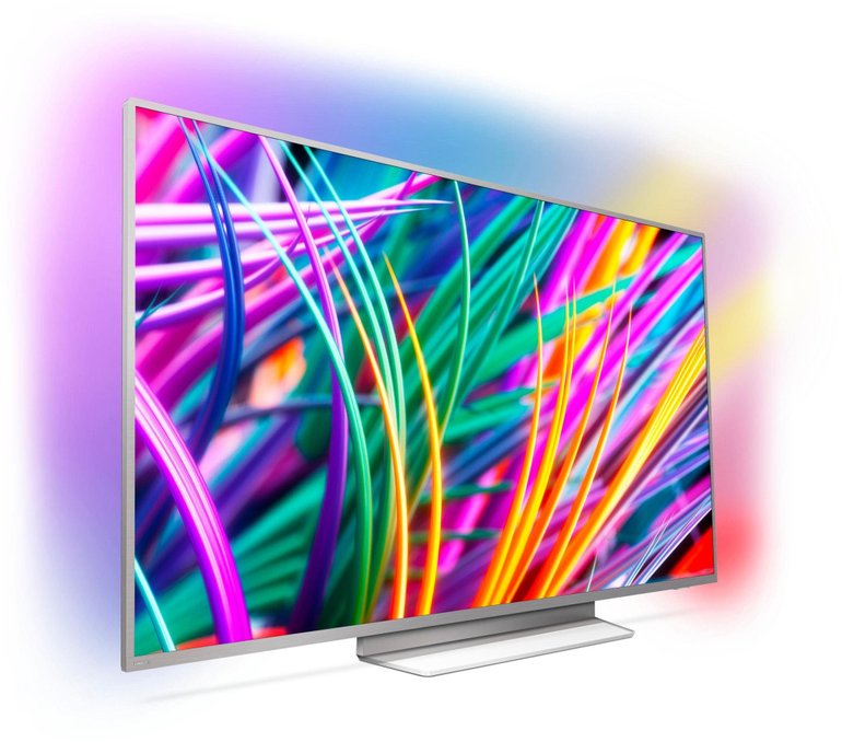 "Philips 55PUS8303 - 55"" UHD-Fernseher (3-seitiges Ambilight, Android 8) je 699€"