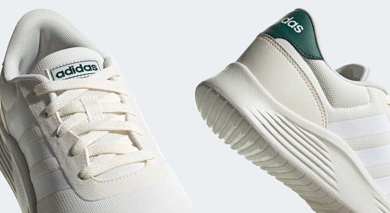 Adidas Lite Racer 2.0 Sneaker in Weiß 3