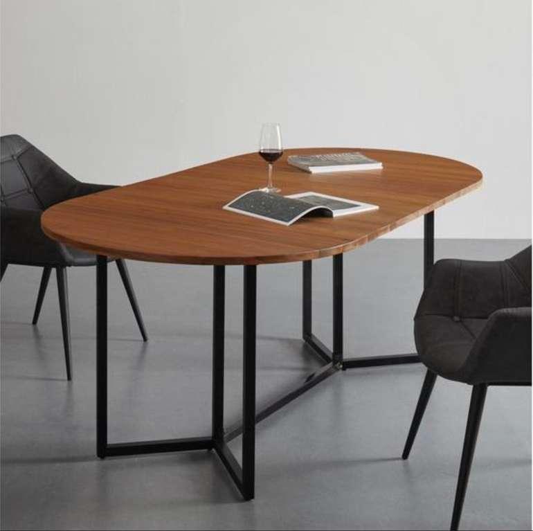 """Ausziehtisch """"Samuel"""" aus Massivholz ca. 160-200x100 cm für 259,25€ inkl. Versand (statt 350€)"""