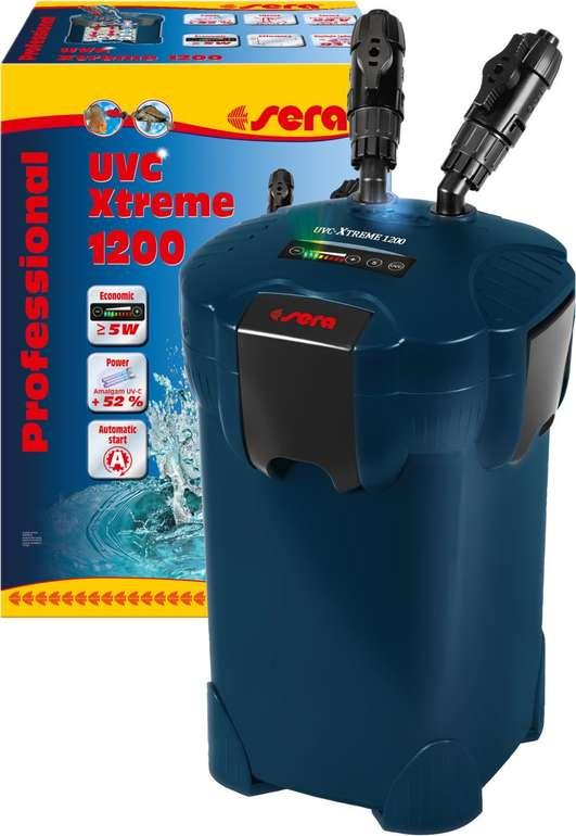sera UVC-Xtreme 1200 elektronisch steuerbare Aquariumpumpe mit Filter für 118,80€