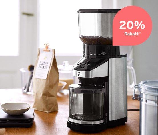 Tchibo elektrische Kaffeemühle für 67,95€ inkl. Versand (statt 84€)