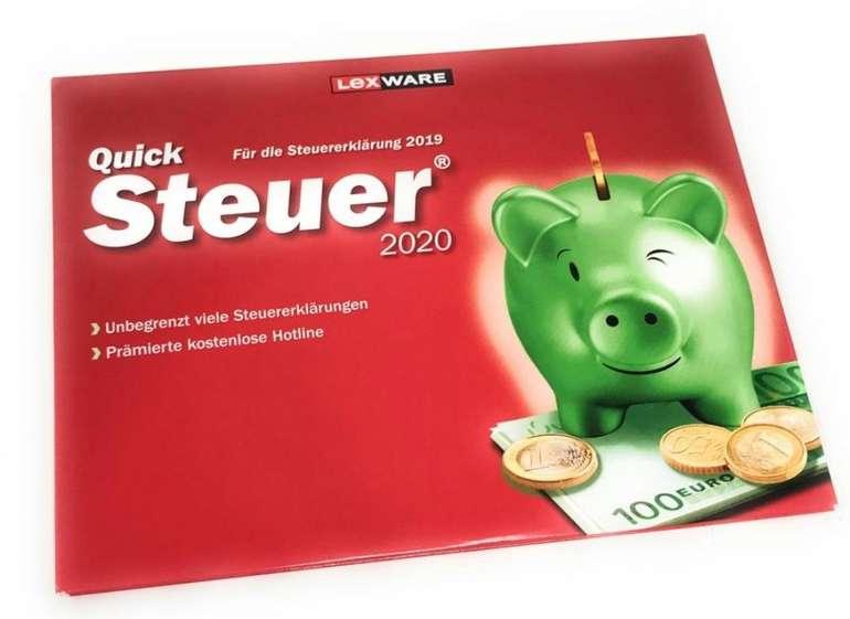 Lexware QuickSteuer 2020 für das Steuerjahr 2019 nur 11,11€ inkl. Versand (statt 15€)
