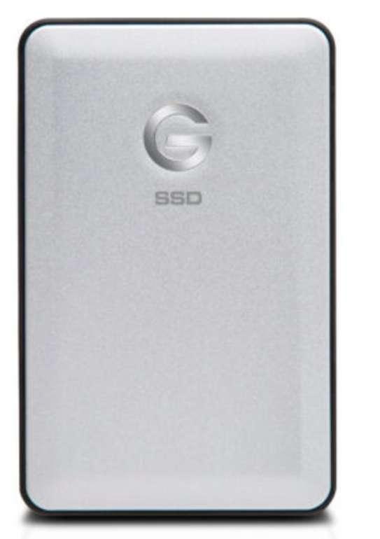 G-Technology G-DRIVE Slim SSD 500GB in Silber (USB 3.1) für 63,94€ inkl. Versand (statt 111€)