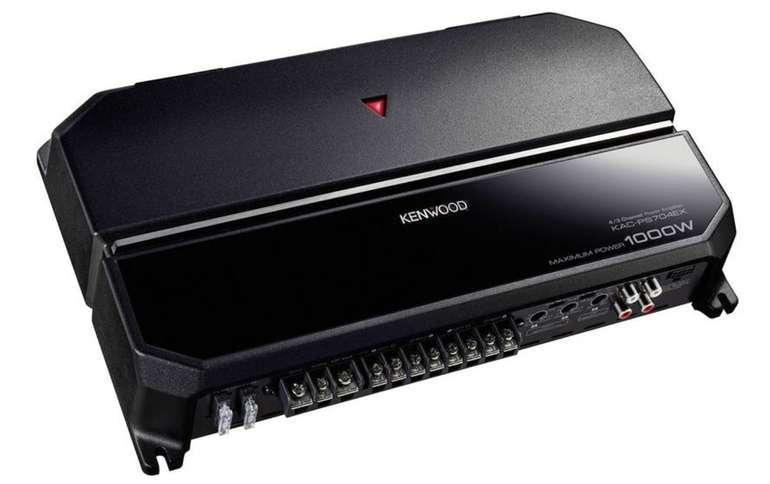 Kenwood KAC-PS704EX Endstufe (1000W, 4-Kanal / 2 Ohm, 20Hz - 50kHz) für 87,10€