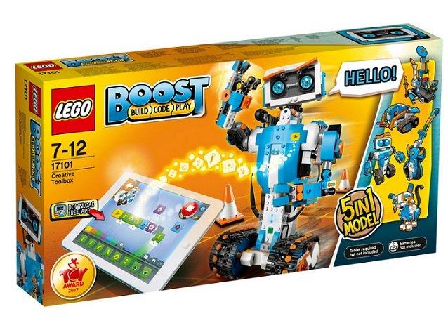 Lego Boost - Creative Toolbox 17101 (Programmierbares Roboticset) für 97,85€