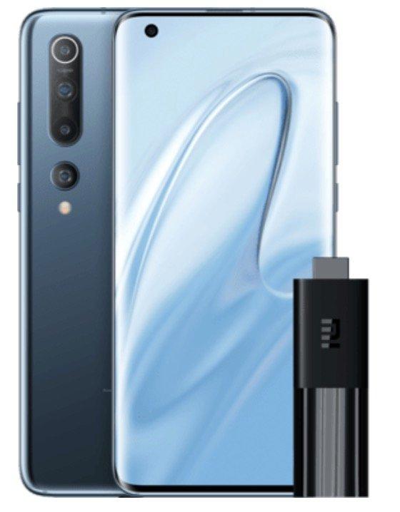 Xiaomi Mi 10 mit 128GB Speicher + Xiaomi TV Stick (29,01€) + o2 Free L Allnet mit 60GB LTE für 44,99€ mtl.
