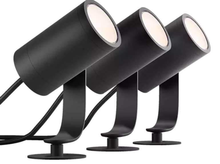 3er Basis Set Philips Hue Lily LED-Spot - Outdoor-BaseKit für Hue Lichtsystem nur 197,99€ (statt 232€) - Newsletter