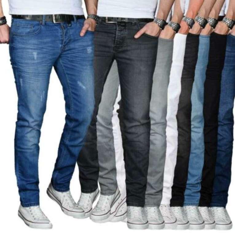 A. Salvarini Regular Slim Basic Stretch Designer Herren Jeans für je 27,90€ inkl. Versand