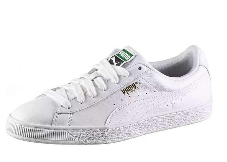 Puma Basket Classic LFS Sneaker in weiß für 37,90€ inkl. Versand (statt 58€)