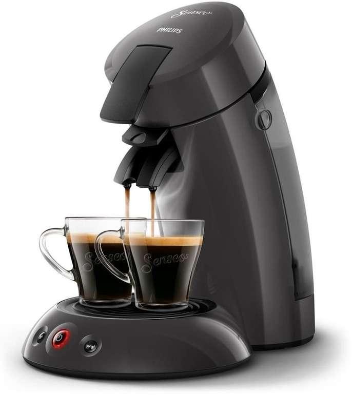 Original Senseo Kaffeepadmaschine HD 6553/50 in dunkelgrau für 38,74€ inkl. Versand (statt 50€)
