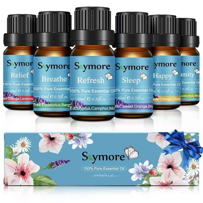 Skymore - 6 ätherische Öle (10 ml) im Geschenk Set für 5,99€ inkl. Prime Versand (statt 12€)