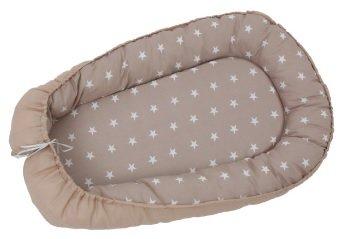 Polini Kids Babynestchen Sterne grau für 19,94€ inkl. Versand (statt 29€)