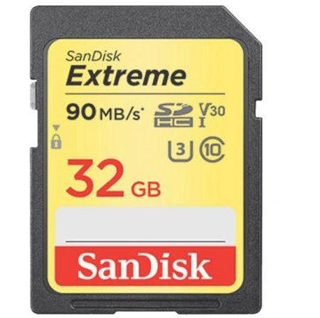 SanDisk Extreme SDHC 32GB (90MB/s) für 8,10€ inkl. Versand