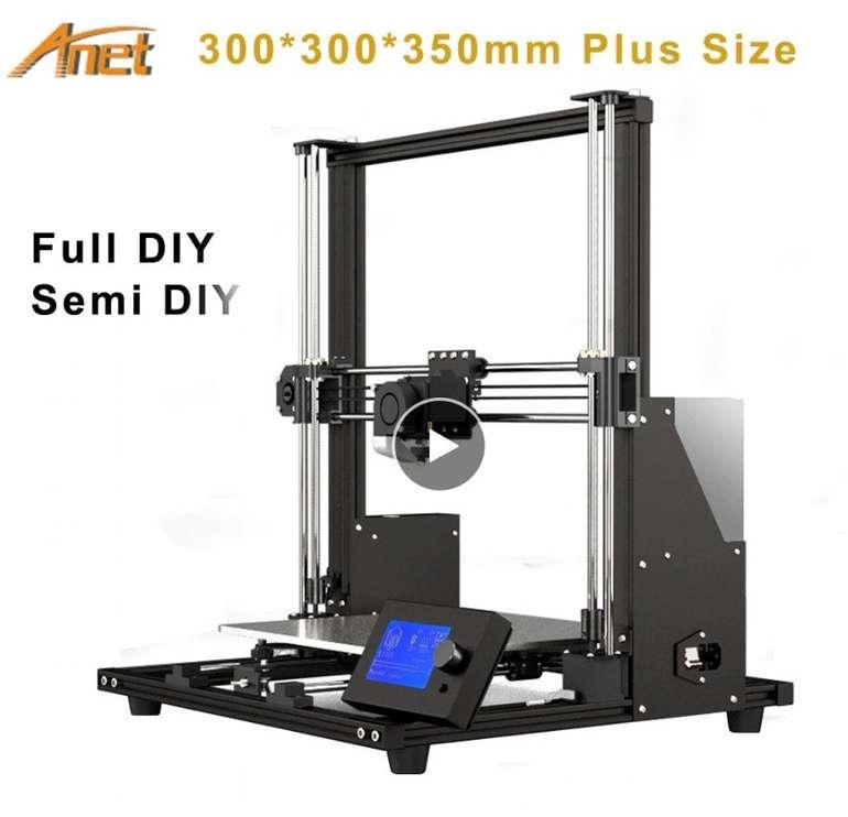 Anet A8 Plus - High precision DIY 3D Drucker mit LCD-Display für 166,21€ inkl. Versand