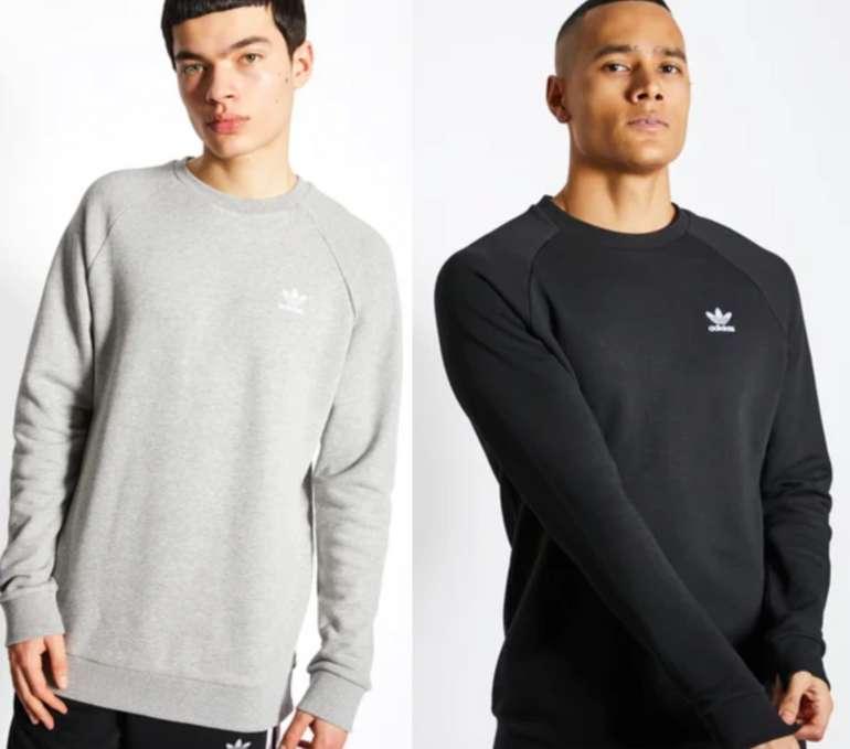 adidas Essential Herren Sweatshirt in Grau oder Schwarz für 29,99€inkl. Versand (statt 35€)