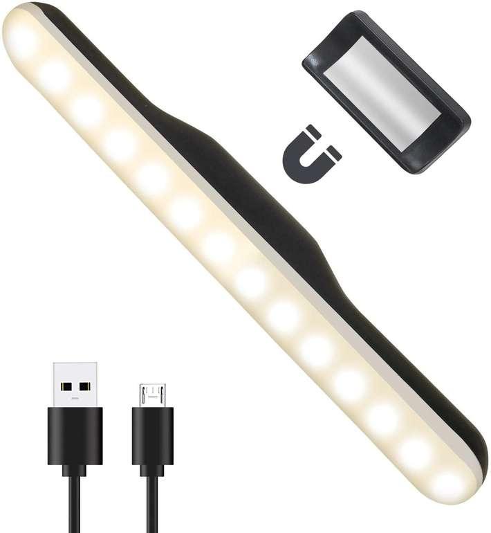 AidSci 3W LED Schrankleuchte (dimmbar, 2500 mAh) für 9,99€ inkl. Prime Versand (statt 20€)
