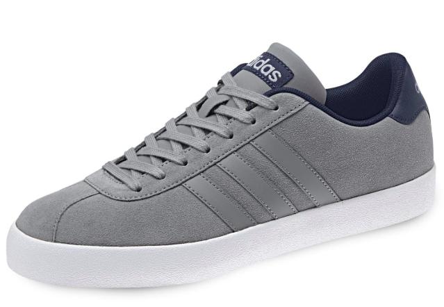 Adidas Neo Court Vulc Herren Schuh in grau für 39,19€ inkl. Versand (statt 50€)