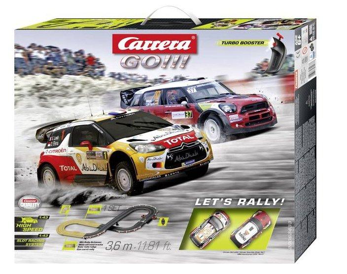 Carrera GO!!! Let's Rally Start-Set (20062433) für 34,44€ inkl. Versand