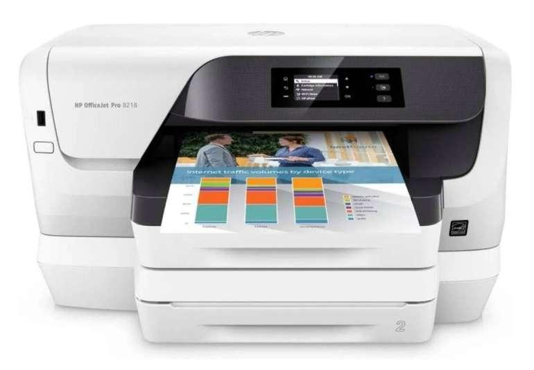 HP OfficeJet Pro 8210 Tintenstrahldrucker (A4, USB, Duplex, LAN, WLAN, ePrint, AirPrint) für 99,90€