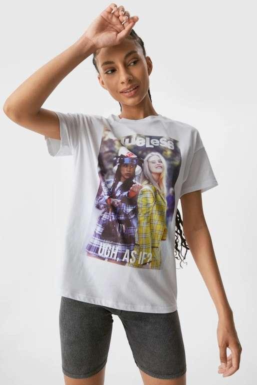 """Clockhouse Damen T-Shirt """"Clueless"""" für 4,50€ inkl. Versand (statt 10€)"""