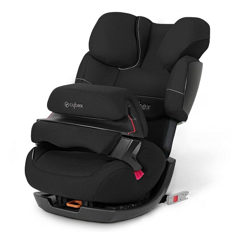cybex silver pallas fix autositz pure black f r 146 99 inkl. Black Bedroom Furniture Sets. Home Design Ideas