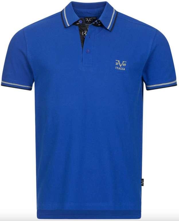 19V69 Versace Mega Sale bei SportSpar mit bis zu 82% Rabatt - z.B. Ricamo Retro Herren Polo-Shirt für 15,99€