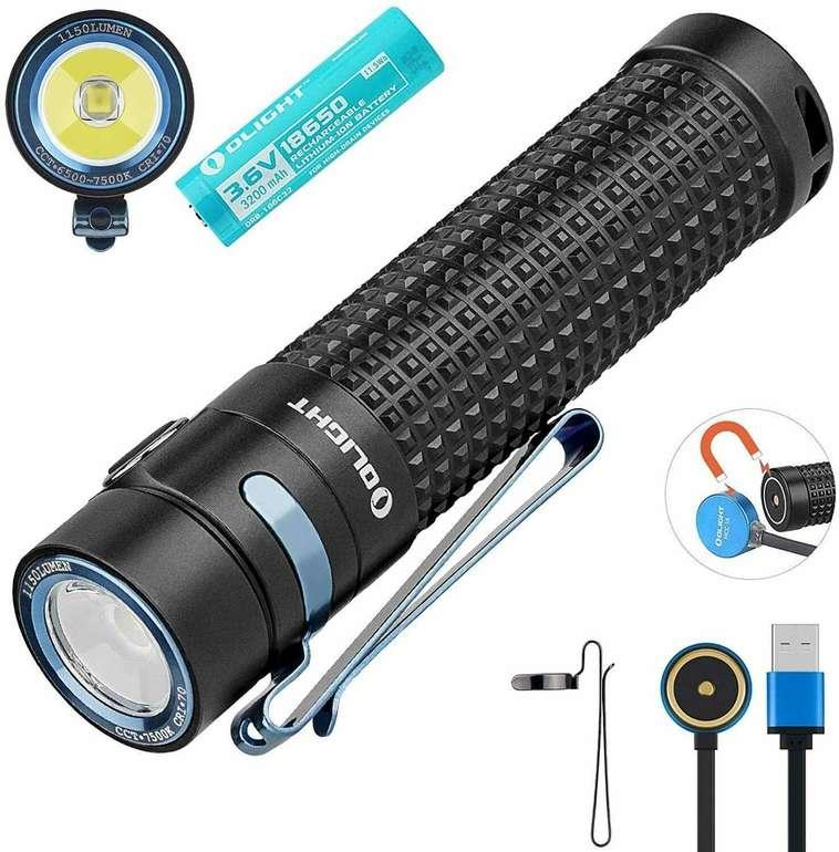 Olight S2R Baton II Taschenlampe mit 1150 Lumen für 51,77€ inkl. Versand (statt 73€)