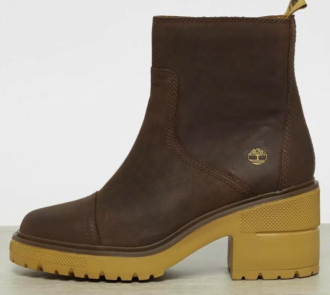 """Timberland """"Silver Blossom Side Zip"""" Boots in braun für 62,39€ inkl. Versand (statt 86€)"""