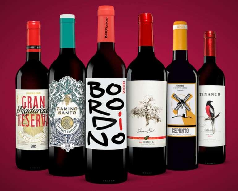 Vinos Rotwein Paket mit 6 Flaschen für 24,99€inkl. Versand (statt 59€) - Newsletter!