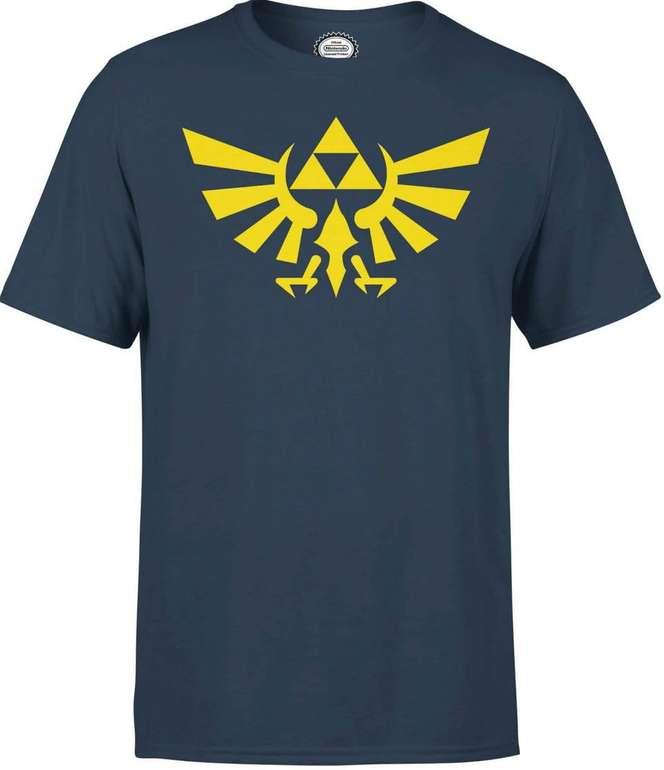 3 offiziell lizensierte Nintendo T-Shirts für 2, effektiv unter 12€ pro T-Shirt