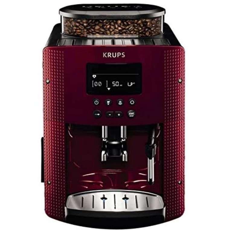 Krups EA815570 Kaffeevollautomat mit 3-stufiger Temperatur- und Mahlgradeinstellung für 283,95€ inkl. Versand