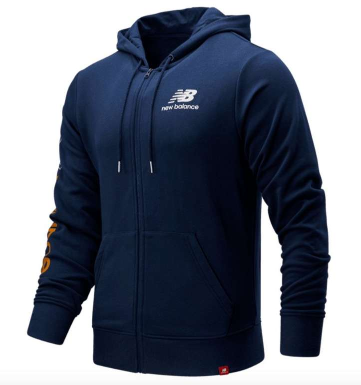 New Balance Kapuzenpullover Essentials Icon FZ Fleece Jacket für 42,95€ (statt 70€)