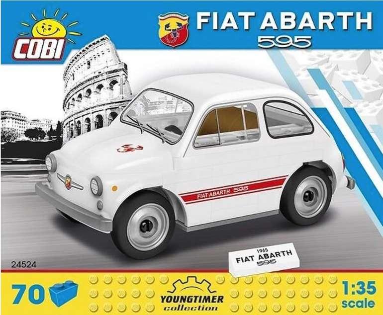Cobi 1965 Fiat Abarth 595 (24524) Klemmbausteine Bausatz (70 Teile, 1:35) für 8,99€ (statt 13€)