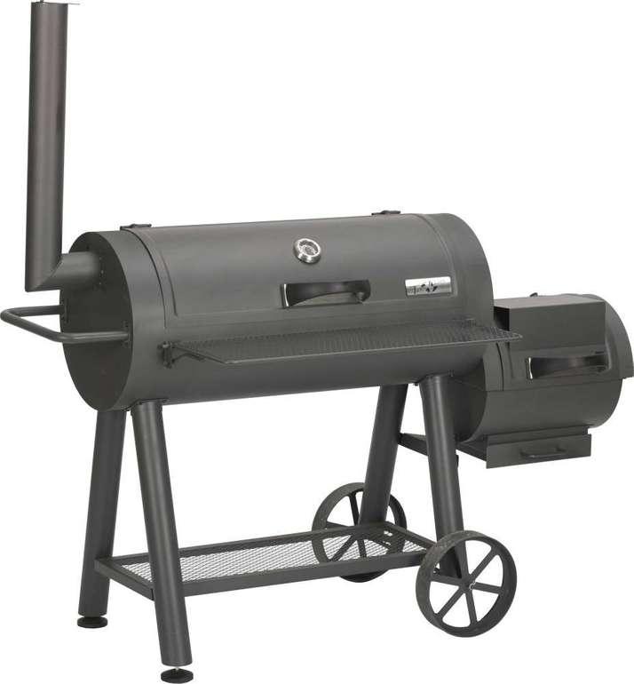 Primaster Holzkohlegrill Smoker Mississippi für 310,95€ (statt 355€)