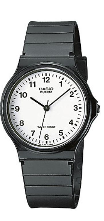 Casio Collection MQ-24-7BLLGF in schwarz für 8,69€ inkl. Versand (statt 10€)