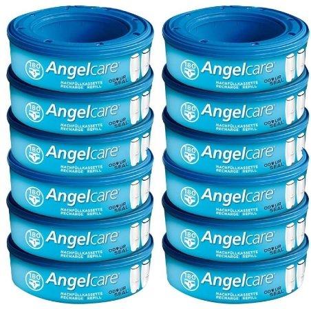 12er Pack Angelcare Windeleimer Nachfüllkassetten für 69,99€ inkl. Versand (statt 79€)