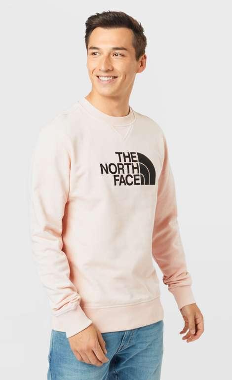 """The North Face Sweatshirt """"Drew Peak"""" in rosa / schwarz für 34,90€inkl. Versand (statt 53€)"""