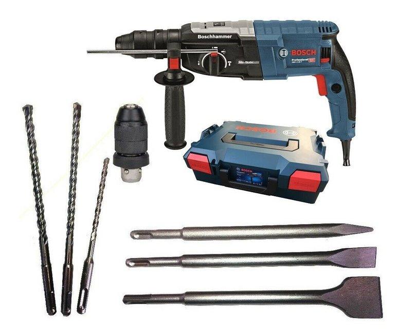 Bosch Bohrhammer GBH 2-28 F + L-BOXX + 3 Bohrer + 3 Meißel für 179,10€ inkl. Versand (statt 205€)