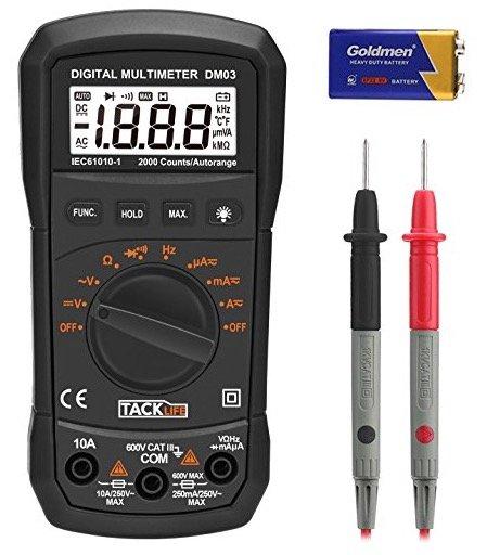Digitales Multimeter Tacklife DM03 für 9,98€ inkl. Versand mit Prime!