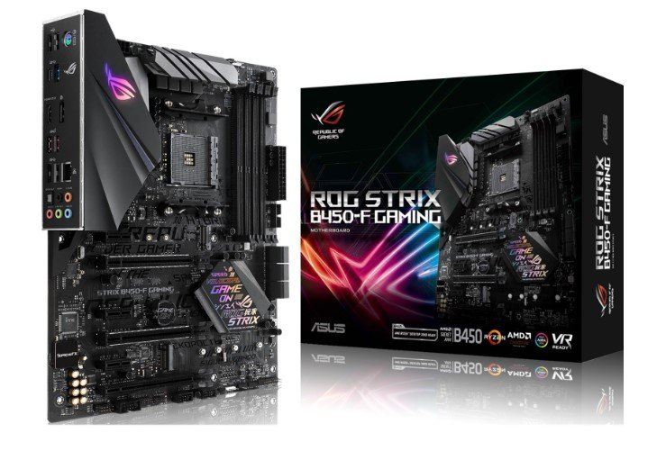 Asus ROG Strix B450-F Gaming Mainboard für 104,89€ inkl. Versand + 40€ Cashback (statt 129€)