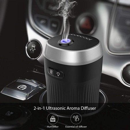 dodocool - Auto Aroma Diffuser & Lufterfrischer mit LED für 12,53€ mit Prime