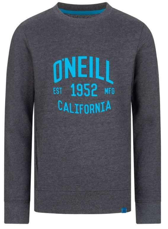 O'Neill Logo Crew Jungen Sweatshirt in grau/blau für 19,94€inkl. Versand (statt 30€)