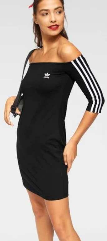 """Adidas Originals Kleid """"Shoulder Dress"""" in schwarz für 23,92€inkl. Versand (statt 35€)"""