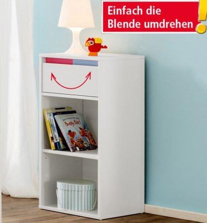 Trendstabil Babyzimmer Regal mit Wechselblende für 18,44€ inkl. Versand