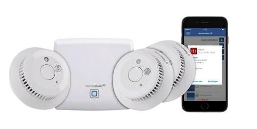 Homematic IP Starterkit Rauchmelder HmIP-SK4 für 169€inkl. Versand (statt 184€)