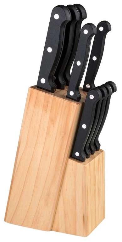 Justinus Messerblock Küchenchef aus Edelstahl für 12,73€ (statt 50€) - nur Abholung möglich!