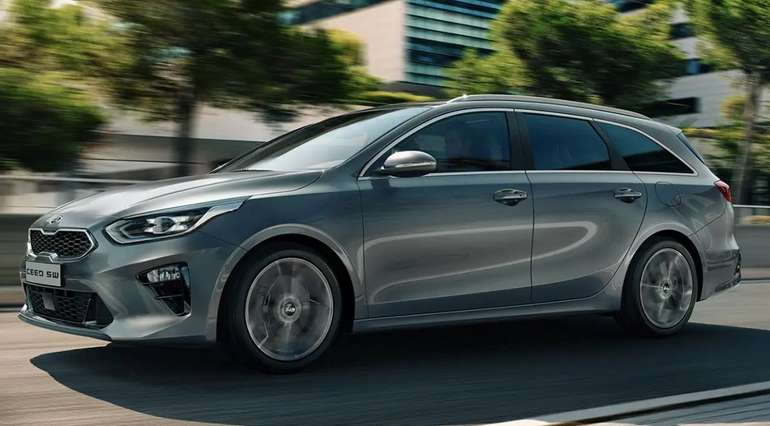Gewerbe Leasing: Kia Ceed Sportswagon Vision mit 136 PS für 85€ mtl. (BAFA, LF: 0,35)