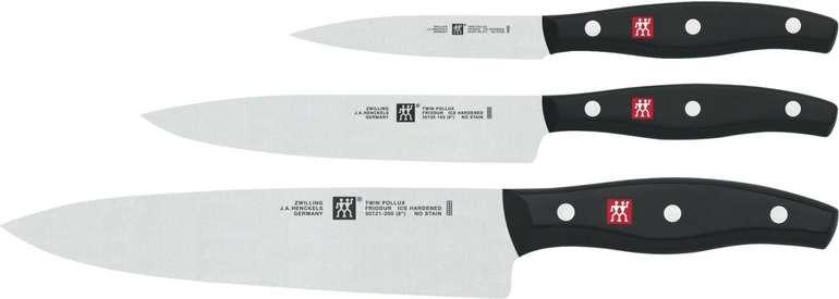 3-tlg. Zwilling Messer Set Twin Pollux für 45,90€ inkl. Versand (statt 73€)